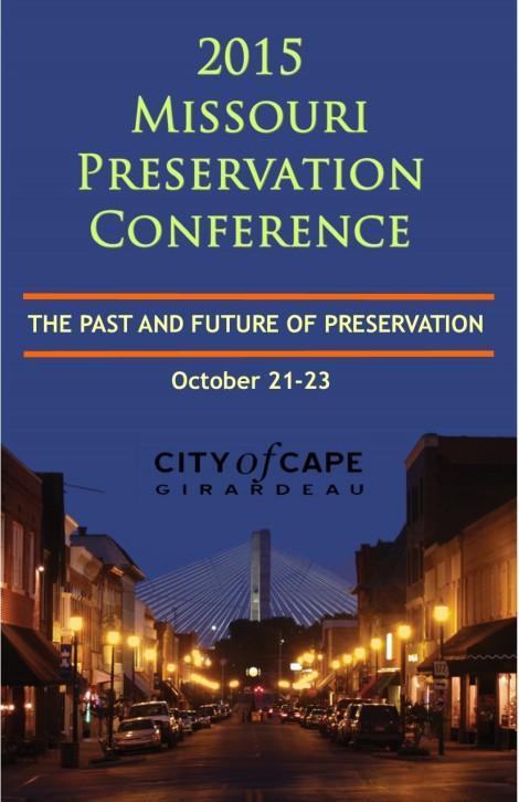2015 Missouri PreservationConference